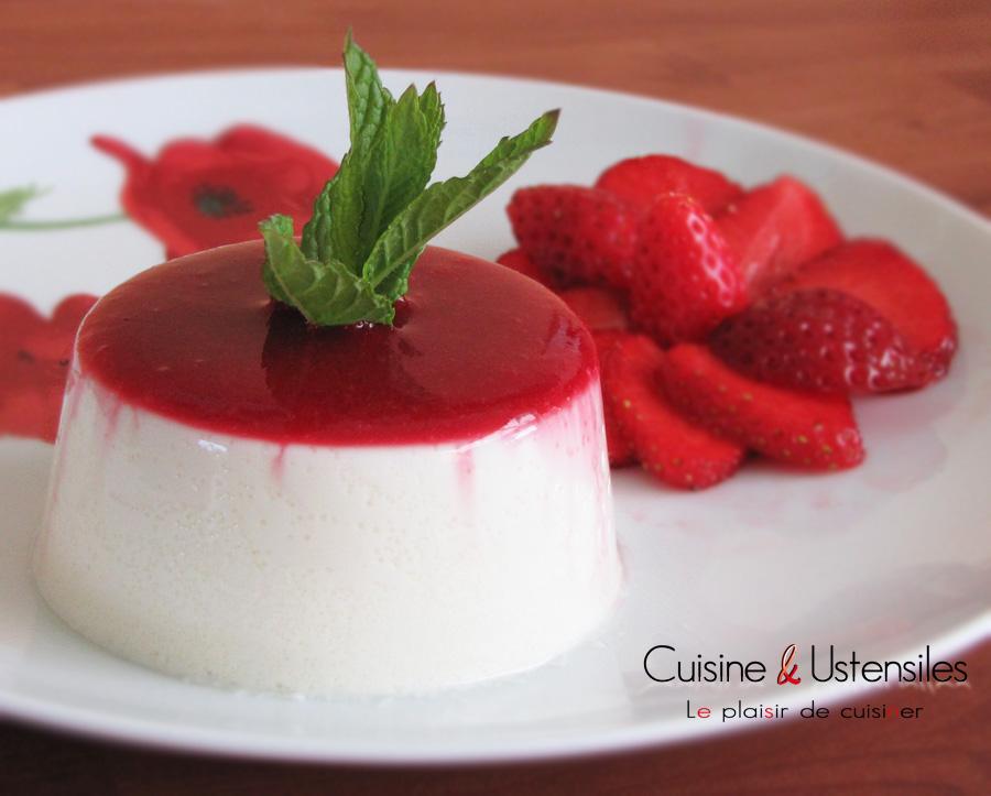 Recette panna cotta l agar agar le blog de cuisine - Panna cotta herve cuisine ...