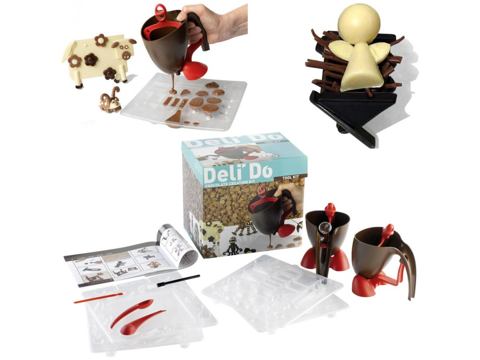 kit de creation chocolat delido