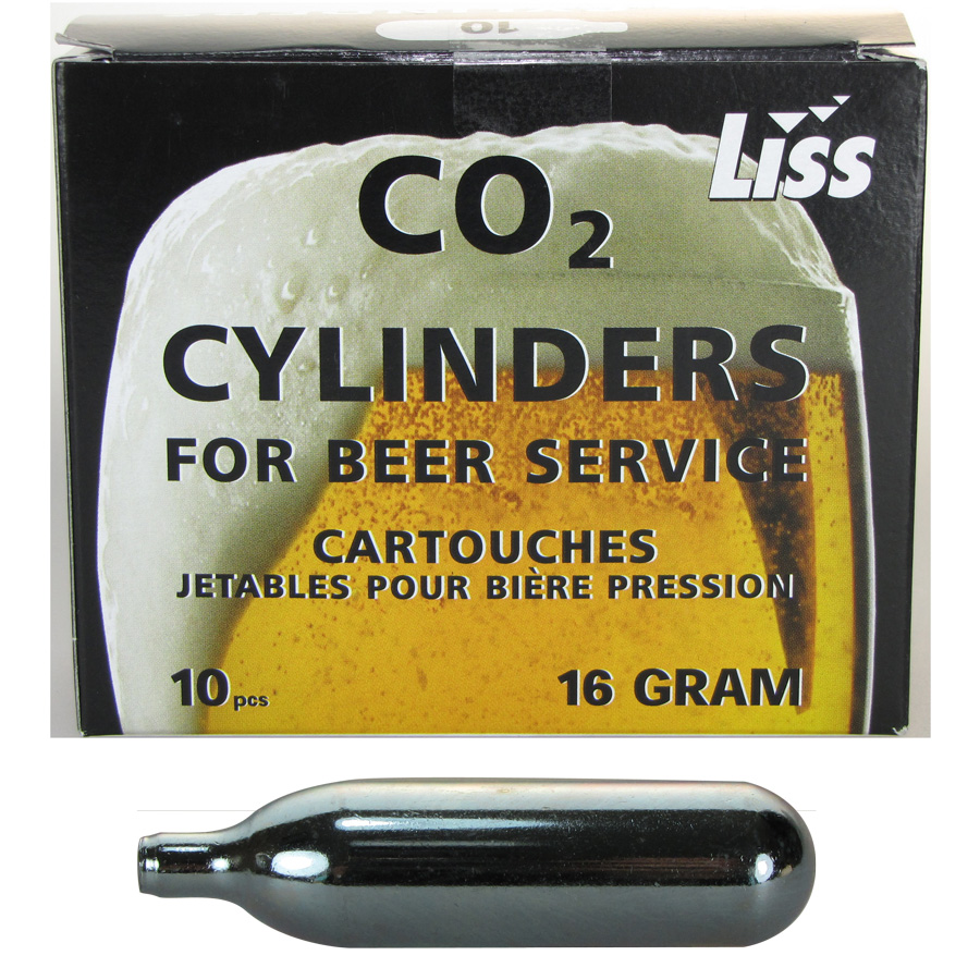 cartouche gaz pompe a biere 16g