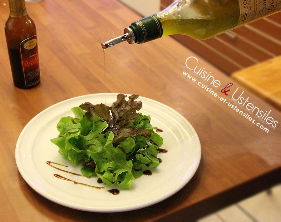 salade verte huile et vinaigre