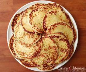 crepes levure de boulanger