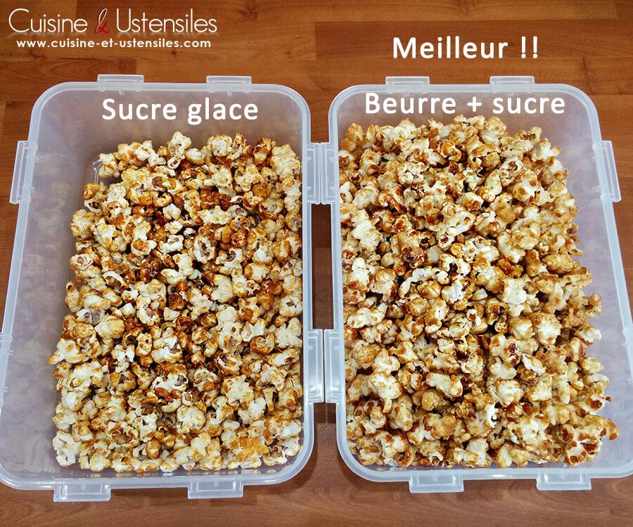 Recette pop corn caram lis maison le blog de cuisine et ustensiles - Faire du caramel maison ...
