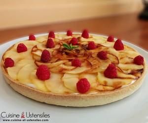 tarte pommes chantilly amande