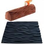 tapis faux bois buche