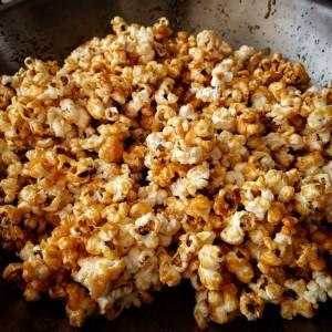 popcorn carmelisé