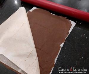 plaque de craquelin chocolat