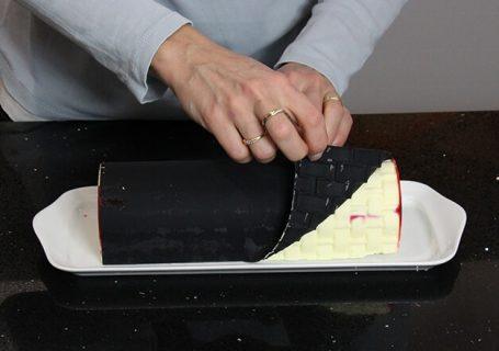 tapis moule à buche silikomart